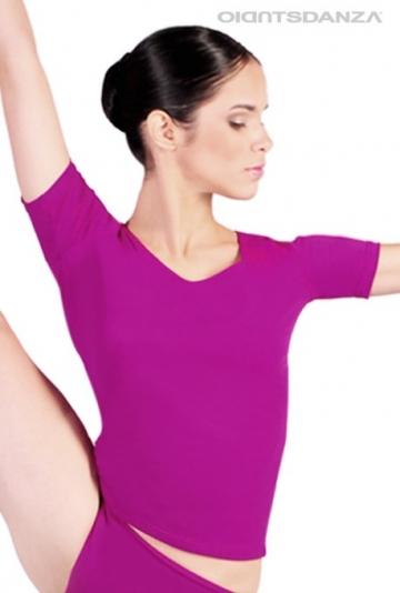 Camiseta de danza clásica JZM33T