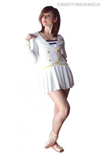 Vestido de danza moderna marinero C2120