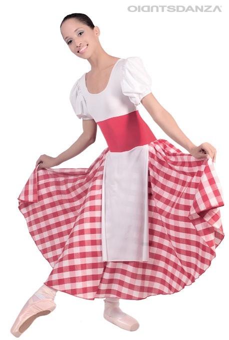 Costume danza La lavandaia