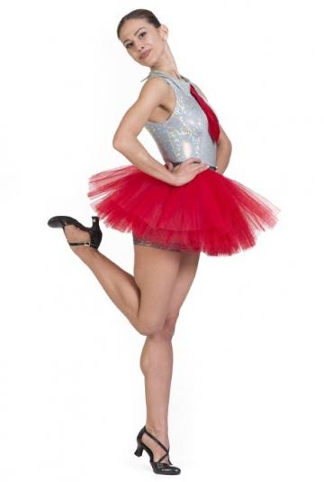 Costume per danza moderna in lycra laminata