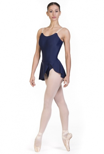 Maillot danza clásica con falda