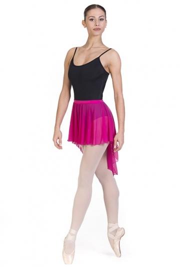 Falda de danza con cola
