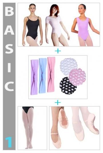 Kit de ropa para el Ballet a precios bajos