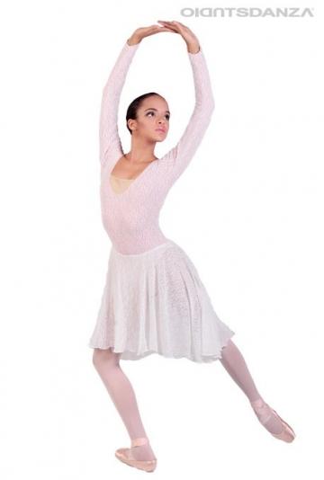 Traje ballet de encaje C2532