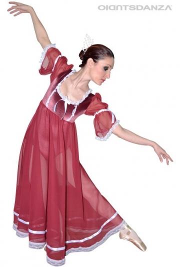 Traje de ballet estilo medieval C2537