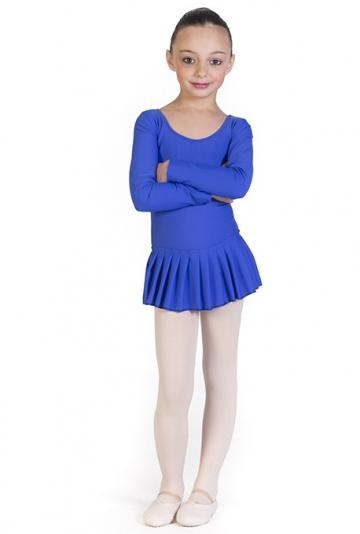 Maillot ballet niña con falda B441