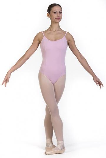 Maillot de ballet para adultas y niñas con cortes
