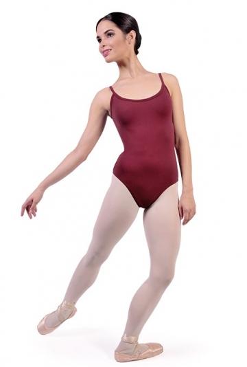 Maillot ballet con tirantes cruzados B1014