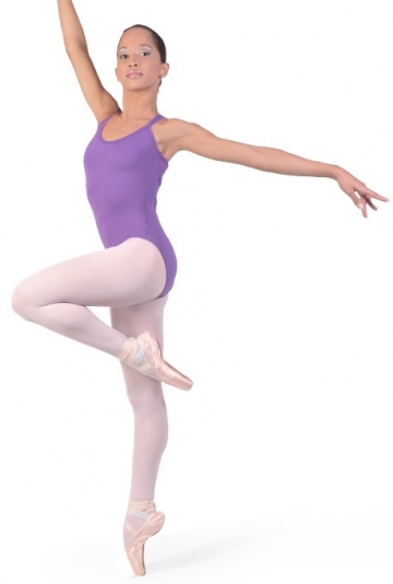 Maillot ballet con tirantes