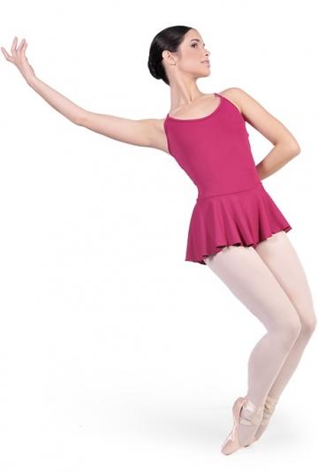 Maillot de danza con faldita