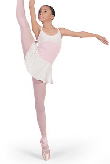 Maillot de ballet para niña con falda B3005