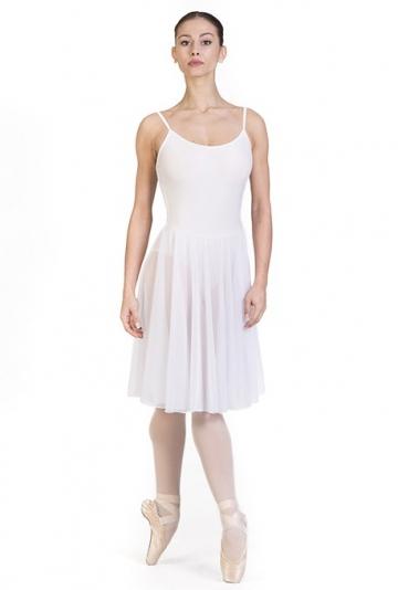 Maillot de danza con falda B7023