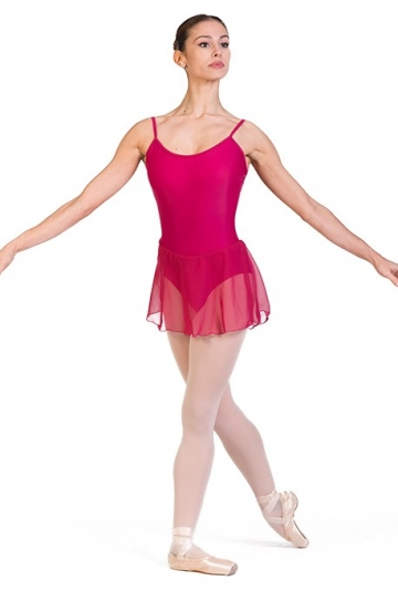 Maillot con falda danza clásica