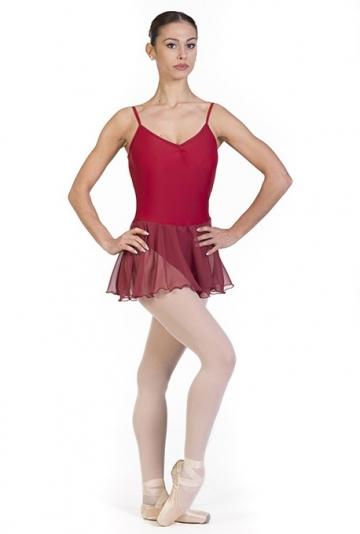 Maillot falda danza clásica