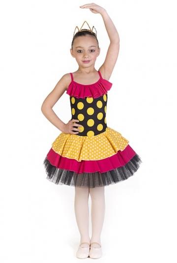 Tutu per bambina danza classica C2696