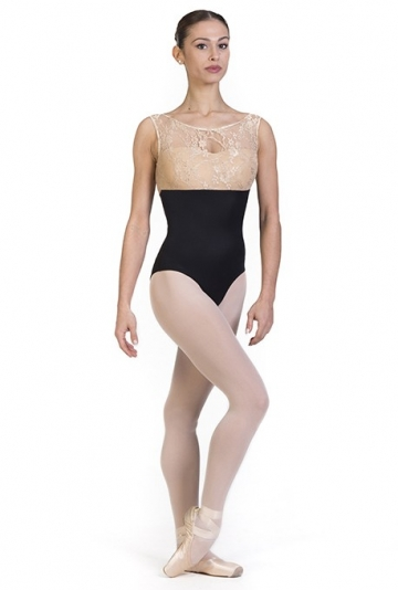 Body danza con collo alto B7012