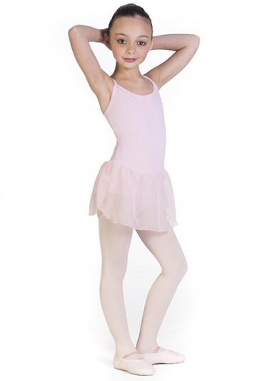 Maillot de ballet con falda