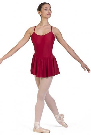 Maillot de ballet clásico con falda