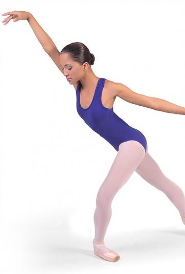 Maillot de ballet con línea olímpica