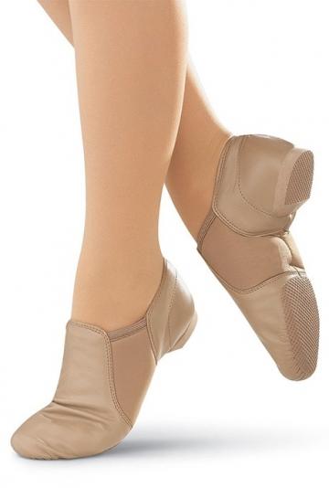 Zapatillas de Jazz con inserción de neopreno