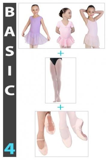 Medias Zapatillas y Maillots de ballet Clásico