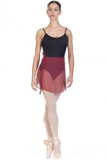 Falda de ballet cruzada